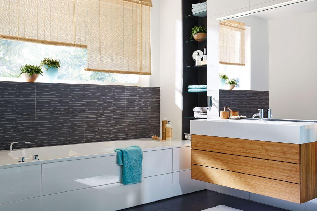 anthrazit badezimmer alles ber wohndesign und m belideen. Black Bedroom Furniture Sets. Home Design Ideas